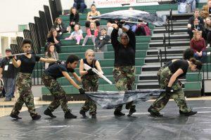 Photo Gallery: Winter Guard, Tuscarora Competition
