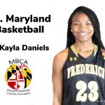 Cadets' Daniels named MBCA's Ms. Maryland Basketball via The Frederick News-Post