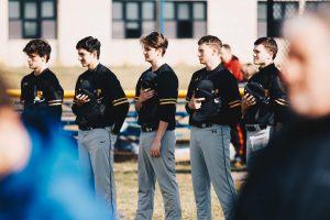 Photo Gallery: Varsity Baseball vs Walkerville. Courtesy of Duncan Slade
