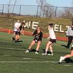 Girls Jv Lacrosse: Cadets start showing potential in a hard fought loss to Linganore