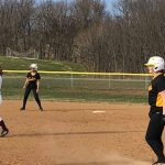 Jv Sofball: Cadets score 15 but fall to Roaders in game two of double header