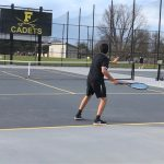 Boys Tennis: Knights sweep Cadets at B&G Parks