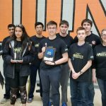 Cadet Robotics wins Inspirational Rookie Award in Blacksburg, advance to championships at George Mason