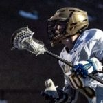 Boys Varsity Lacrosse: Tinney's big night vs South propels Cadets to first win