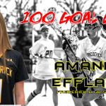 Effland nets 100th career goal, joins prestigious group