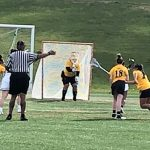 Girls Jv Lacrosse: Behind Hairston Cadets shut out Saints