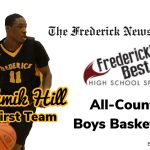 Hill named FNP All-County First Team, three other Cadets honored