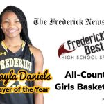 Makayla Daniels named FNP Girls Basketball All-County Co-Player of the year.