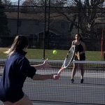 Girls Tennis: Frederick falls to Oakdale