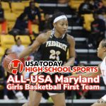 Makayla Daniels USA Today ALL-USA Maryland Girls Basketball First Team
