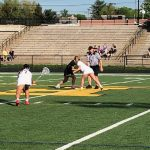 Girls Jv Lacrosse: Cadets fall to Knights at home