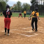 Varsity Softball: Burton homers for FHS in loss to Hubs