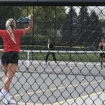 Girls Tennis: Hubs take down Frederick at Cadet Parks