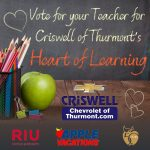 VOTE!! Mr. Stonebraker the Key103 Heart of Learning Teacher!