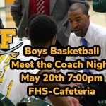 Meet New Boys Basketball Coach Emonte Hill, May 20th at 7pm