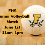 FHS Volleyball Alumni, Register now for our 1st annual alumni match!
