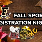 Join us for Fall Sports Registration Night. June 4th!