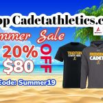 It's the Cadetathletics.com Summer Sale!