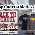 Cadetathletics.com Back To School Sale!