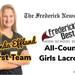 Effland named FNP first team All-County, eight other Cadets honored