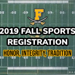 2019 Frederick High Fall Sports Registration Is Now Open. Register today!