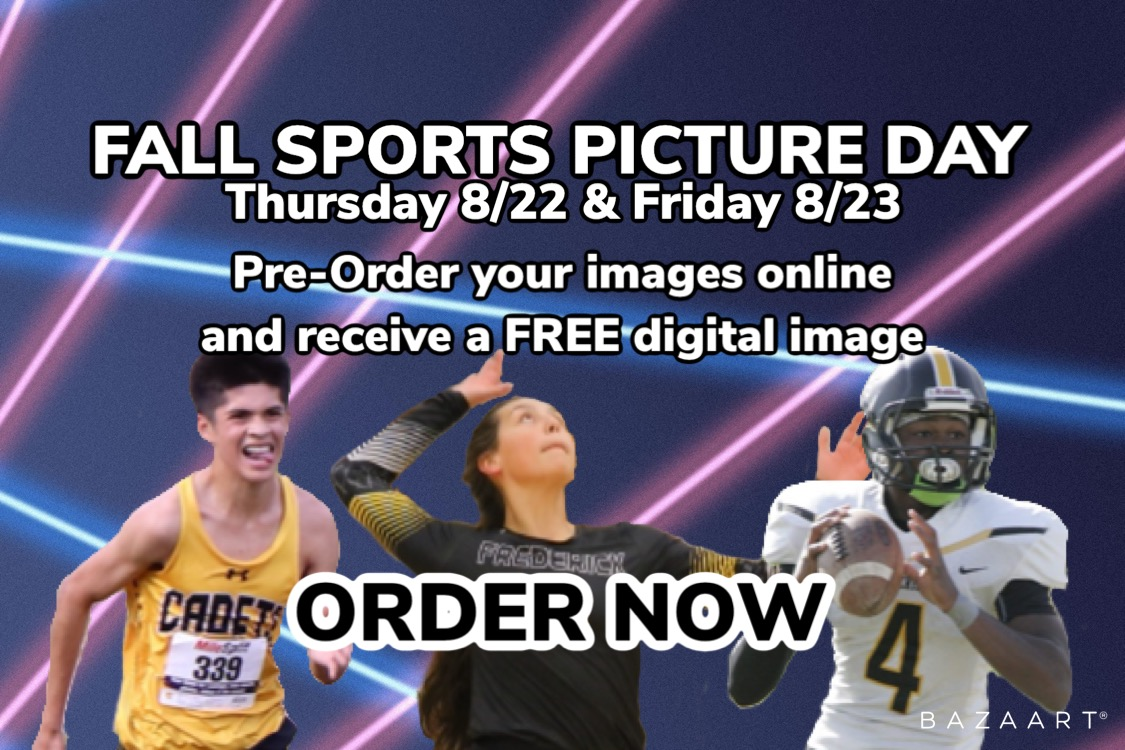 Pre-Order your Fall Sports Photos and Receive a FREE Digital Image