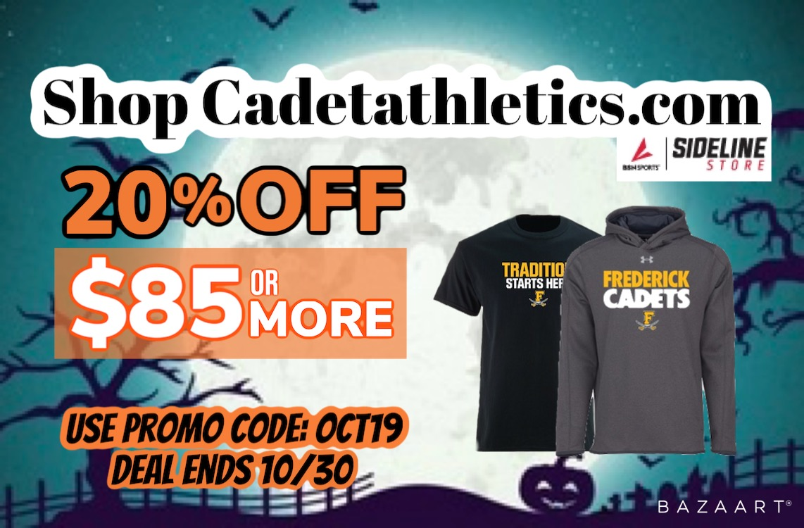 Cadetathletics.com October Sale!