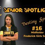 Senior Spotlight: Destiny Spacil, Cadet Girls Soccer