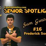 Senior Spotlight: Sam Gonzales, Cadet Boys Soccer