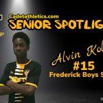 Senior Spotlight: Alvin Kolani, Cadet Boys Soccer