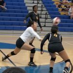 Girls Jv Volleyball: Frederick fights hard but falls on the road to Walkersville