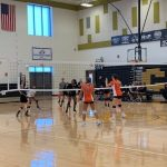 Girls JV Volleyball: Middletown takes down Cadets at The Sabre Center