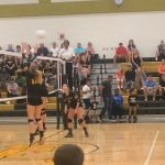 Varsity Volleyball: Cadets sweep Knights at home