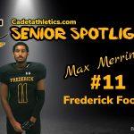 Senior Spotlight: Max Merriman, Cadet Football