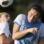 Girls Varsity Soccer: Cadets' Spacil scores twice in win on 18th birthday