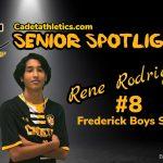 Senior Spotlight: Rene Rodriguez, Cadet Boys Soccer
