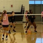 Girls Jv Volleyball: Complete team win as Cadets top TJ 2-0