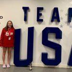 The FNP's story on Cadet Swimmer Rachel Bostian at the Olympic training center