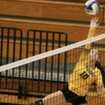 Varsity Volleyball: Hawks down Cadets in straight sets