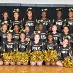 Varsity Cheerleading: Cadets place 5th at FSK Invitational