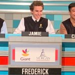 Frederick wins on It's Academic. Show will air December 14th