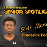 Senior Spotlight: Kris Marshall, Cadet Football