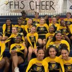 Varsity Cheerleading: Cadets claim 4th place at FCPS Championship