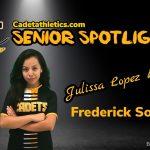 Senior Spotlight: Julissa Lopez Rivera , Cadet Girls Soccer