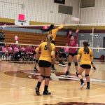 Varsity Volleyball: Pierce, Koselak set records, but Brunswick is to much for Cadets