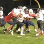 Jv Football: Cadets dominate ground in 40-18 win at Thomas Johnson