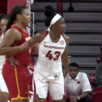 WATCH WDVM- Frederick Cadet alum Makayla Daniels shines ahead of the regular season for the University of Arkansas