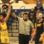 Varsity Wrestling: Eight Cadets record pins in Fredericks 65-18 win at Walkersville