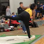 Girls Indoor Track- Meredith 1st in shot put, Cadets 6th overall at Terry Baker Invitational