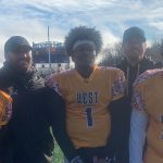 Barnes, Flournoy, Gennes help Team West to Victory in BTC All-Star Football Classic